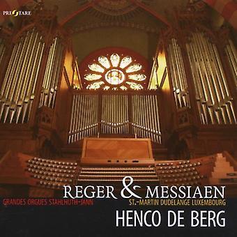 Henco De Berg - Reger & Messiaen [CD] USA import