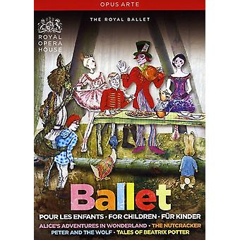 Ballet for Children [DVD] USA import