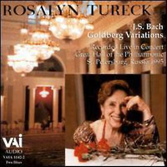 Rosalyn Tureck - Bach: Goldberg Variations [CD] USA import