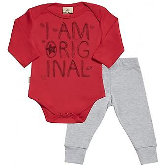 Spoilt Rotten I Am Original Babygrow & Baby Jersey Trousers Outfit Set