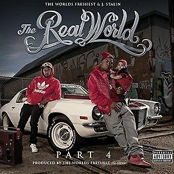 Worlds Freshest & J-Stalin - Real World 4 [CD] USA import
