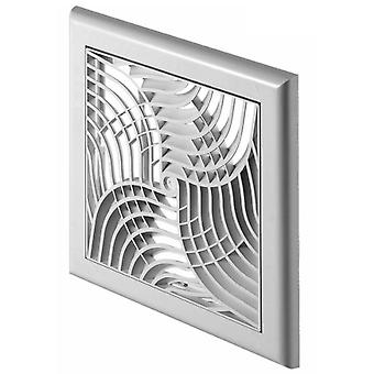 כיסוי לקיר עיצוב מודרני באוויר עם רשת תריס 150x150mm
