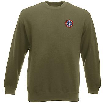Escola de arma de caça da Marinha dos EUA Top Gun bordado logotipo - Heavyweight moletom