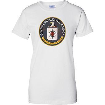 Central Intelligence Agency - CIA - US vakooja virasto - Cool - naisten T-paita