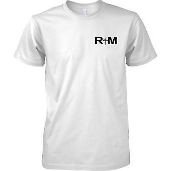 RM Commando tikari - kuninkaallisen merijalkaväen - Naval Elite Forces - miesten rinnassa Design t-paita