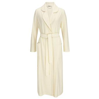 Feraud 3883035-10044 vrouwen Champagne witte katoenen kleed Lounge Bath badjas