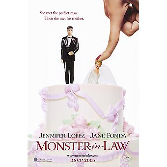 Monster-in-Law filmposter (11 x 17)