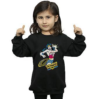 DC Comics Girls Wonder Woman Lasso Sweatshirt