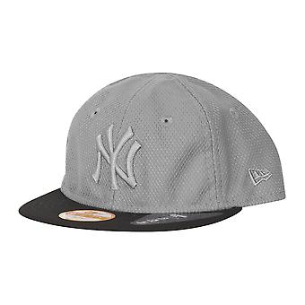 Bebê de Snapback nova era 9Fifty Cap - diamante NY Yankees cinza