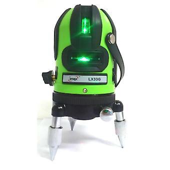 ImEx LX33G 3 lijn groene Beam Laser niveau