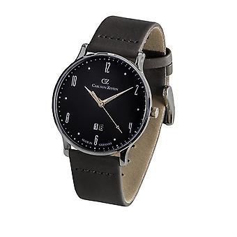 Carl of Zeyten men's watch wristwatch quartz Lenzkirch CVZ0019GY