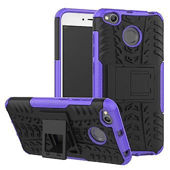 Hybrid case 2 piece SWL outdoor purple for Xiaomi Redmi 4 X 5.0 inch case sleeve cover protection