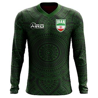 2020-2021 Iran Long Sleeve Third Concept Football Shirt (Enfants)