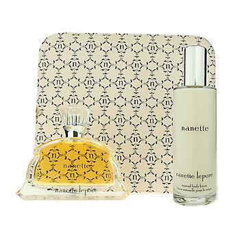 Nanette Lepore Eau De Parfum And Body Lotion 2 Pieces Set New In Box