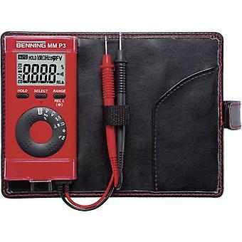 Benning MM P3 Handheld multimeter Digital CAT II 600 V, CAT III 300 V Display (counts): 4000
