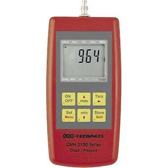 ضغط GMH3161 جريسينجير-12 قياس ضغط الهواء والغاز عدم قابلة للتآكل والغازات المسببة للتآكل 0-1.3 بار