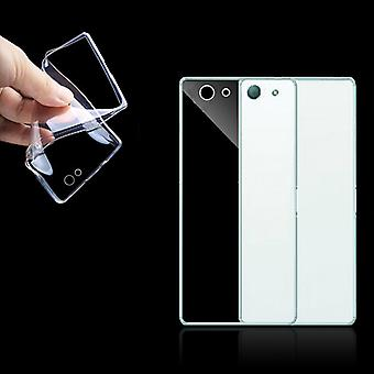 Sony Xperia Z3 compact transparent case cover silicone