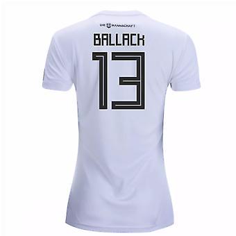 2018-19 Tyskland hjem Women 's skjorte (Ballack 13)