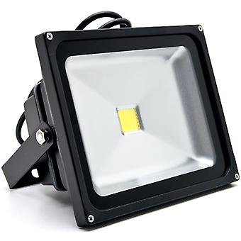 30W LED Flood Light White High Power Outdoor Spotlights Industrial Lighting Home Security Lighting Outdoor House Business Surveillance Safety Wall Washer High Building Billboard Garden