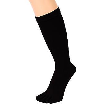 MAXIME Mens Toe Socks - noir