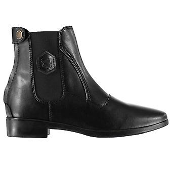 Requisite Womens Rive Jodhpur Boots Zip Pull On Leather Upper Comfortable Fit