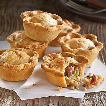 Country Range Frozen Chicken, Bacon and Leek Mini Party Pies