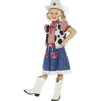 Costume Cowgirl Sweetie, piccola età 4-6