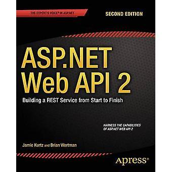 ASP.NET Web API 2 - Building a Rest Service from Start to Finish - 2014