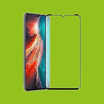 Para Huawei P30 Lite + 2020 Nova Edição 4D Full Curved Hard Glass Foil 0.3mm H9 Black Case