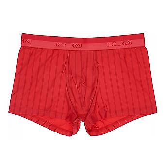 HOM Chic Temptation Microfiber Boxer Brief, Red, X-Large