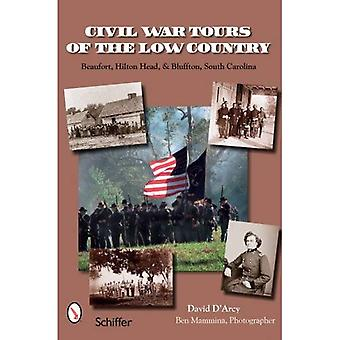 Tours de guerra civil do país baixo: Beaufort, Hilton Head e Charleston, Carolina do Sul