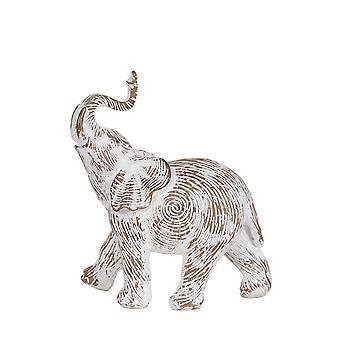 Estatueta decorativa elefante gravado, pequeno