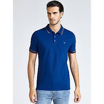 GUESS Blue Polo Shirt