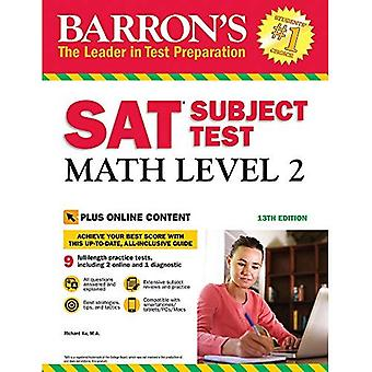 Barron's SAT Subject Test: Math Level 2, 13th Edition: With Bonus Online Tests