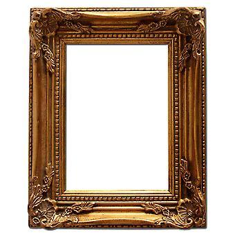15x20 cm or 6x8 inch, gold Frame