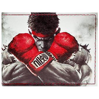 Capcom Street Fighter Ryu Ken Kampf ID & Karte Bi-Fold Geldbörse