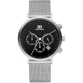 Deense design heren horloge URBAN collectie chronograaf IQ63Q1245 - 3314611