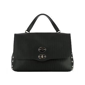 Zanellato 61346002 Women's Black Leather Handtas