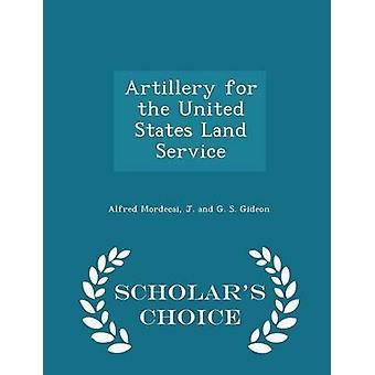 مدفعية للطبعة الولايات المتحدة الأراضي بخدمه العلماء اختيار طريق مردخاي & الفريد