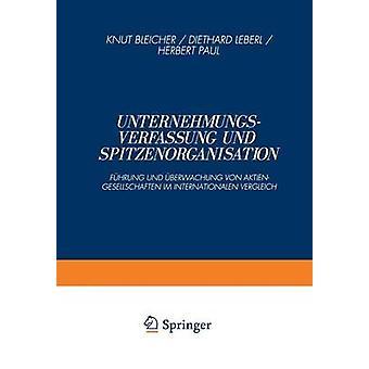 Unternehmungsverfassung & Spitzenorganisation Fhrung & berwachung フォン Aktiengesellschaften im Internationalen Vergleich & クヌート