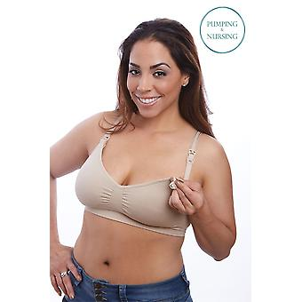 Nourish by BeliBea Seamless Nursing and Hands-Free Pumping Bra