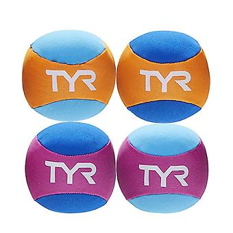 TYR Learn To Swim Pool Splash Balls - Pack of 4