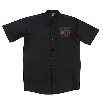 West Coast choppers mens short-sleeved shirt Chief