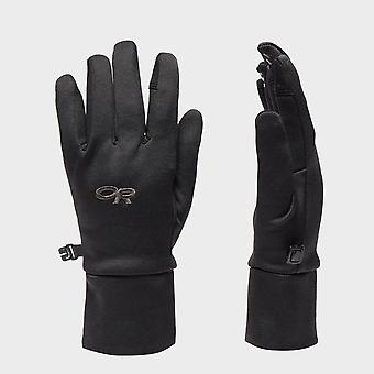 New Outdoor Research Women's PL400 Sensor Gloves Black