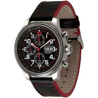 ゼノ ・ ウォッチ メンズ腕時計 OS パイロット クロノ日付 8557TVDD-7-a17