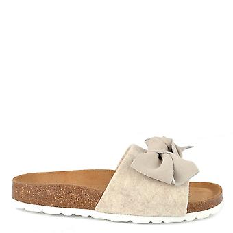Shepherd of Sweden Silvia Creme Wool Slipper