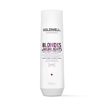 Goldwell Dual spürt, dass Blonde & Highlights Anti-gelb Shampoo 250 ml