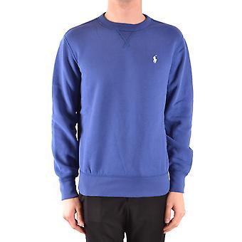 Ralph Lauren Ezbc037161 Men's Blue Cotton Sweatshirt