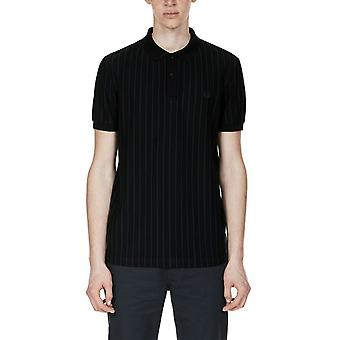 Fred Perry Men's Pinstripe Pique Short Sleeved Polo Shirt M2610-102