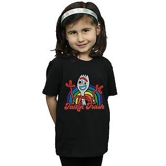 Disney Girls Toy Story 4 Forky Talkin' Trash T-Shirt